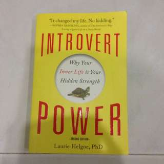 Introvert Power By Laurie Helgoe, PhD
