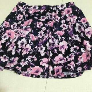 CO floral skirt