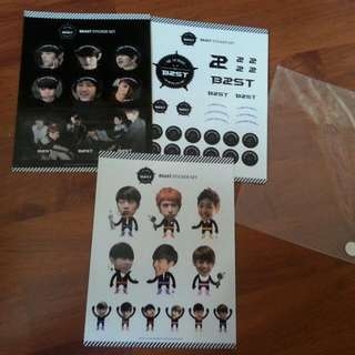 BEAST THE 1ST FANMEETING ASIA TOUR STICKER SET