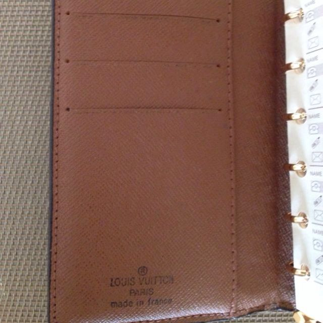 Brand New LV Inspired Note/Phone Book