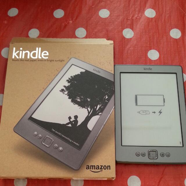 (Reserved) Preloved Amazon Kindle 4th Generation