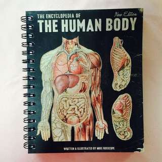 [Sold] Typo Human Body Notebook