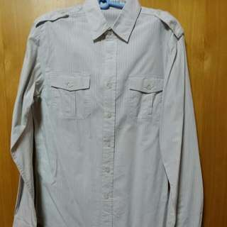 Topman Size S long Sleeve Shirt