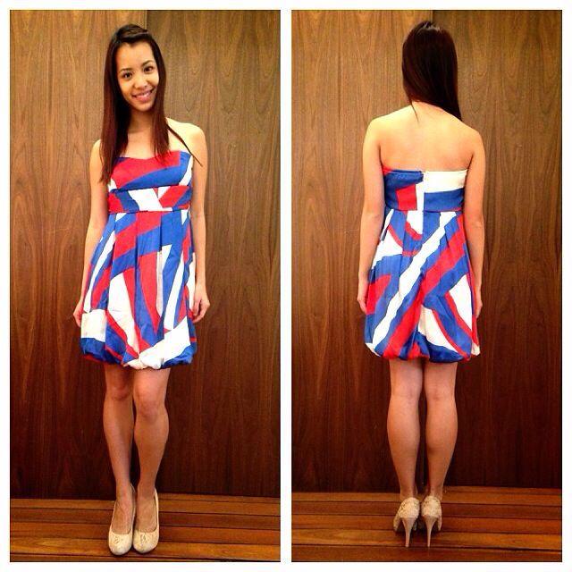 7580bdc5533 Forever21 USA Online Shop Americana Tube Dress