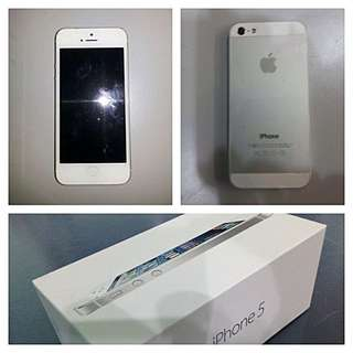 Iphone 5 16gb - White