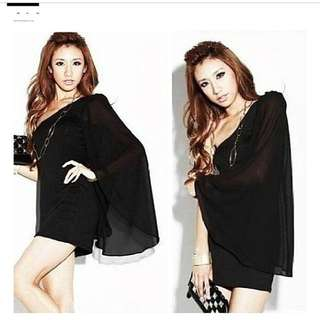 Black Toga Dress Brand New