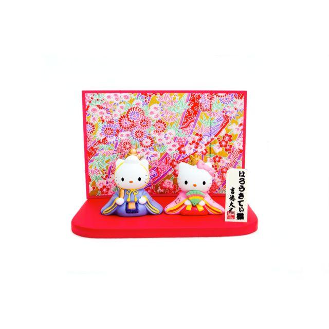 HK Dear Daniel figurine kimono set - Red