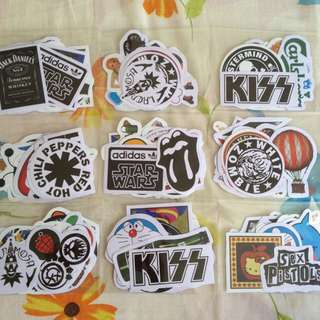 Clearance! Logo Stickers Grabbag