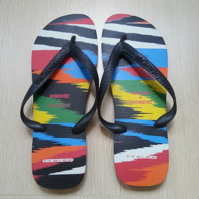 226e0df7e26863 🆕 Missoni X Havaianas Slippers - Men
