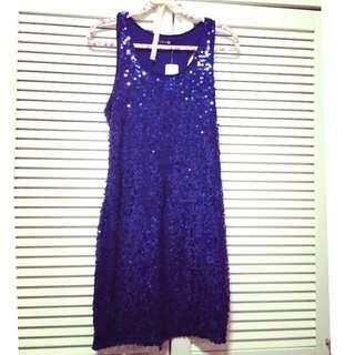 Forever 21 Navy Blue Dress