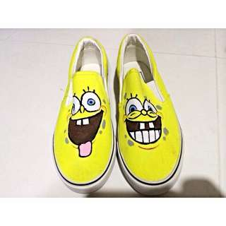 Spongebob Canvas Shoes