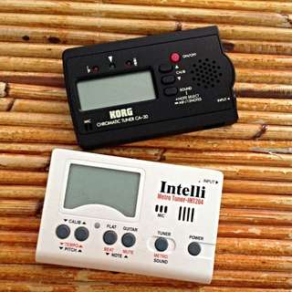 (REDUCED PRICE) Instrument Tuners