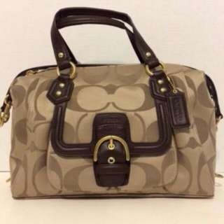 Brand New With Tag Authentic Coach Satchel