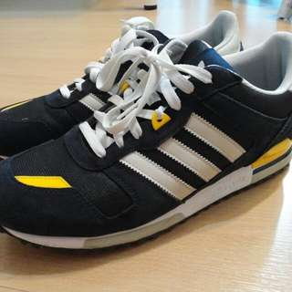 Adidas ZX700 Navy Blue/yellow/white