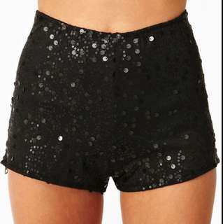 Nasty gal Sequined Shorts