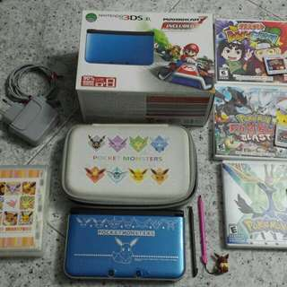 3DS XL Full set with accessories and games