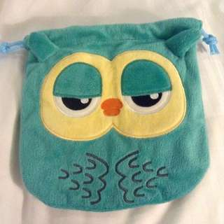 (NO STOCKS CURRENTLY) Heirs; Lee Bo Na's Owl Drawstring Pouch