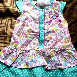 BN 18-24mths Girls Dress, Thin And Cooling Material