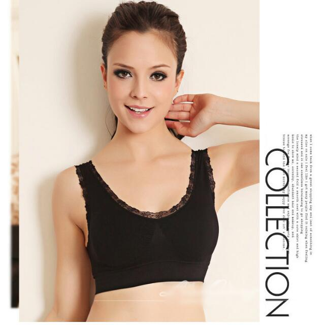 3e480fdfa As Seen On TV~ Lace Genie Bra Seamless Bra with pads (3 pc ...