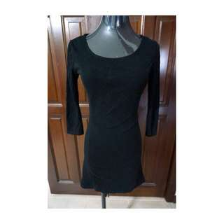 H&m Black Bodycon Dress