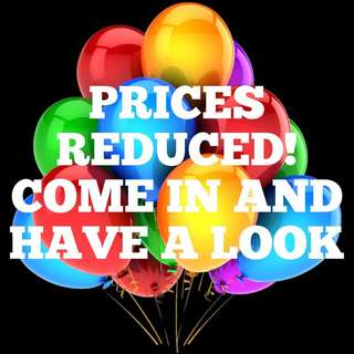 Prices Reduced!!! Great Deals! New Items!!