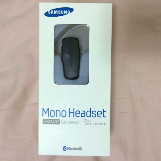 Samsung Mono Headset HM1300 Bluetooth