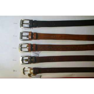 Fully Vegetable Tanned Cow Leather  Belts