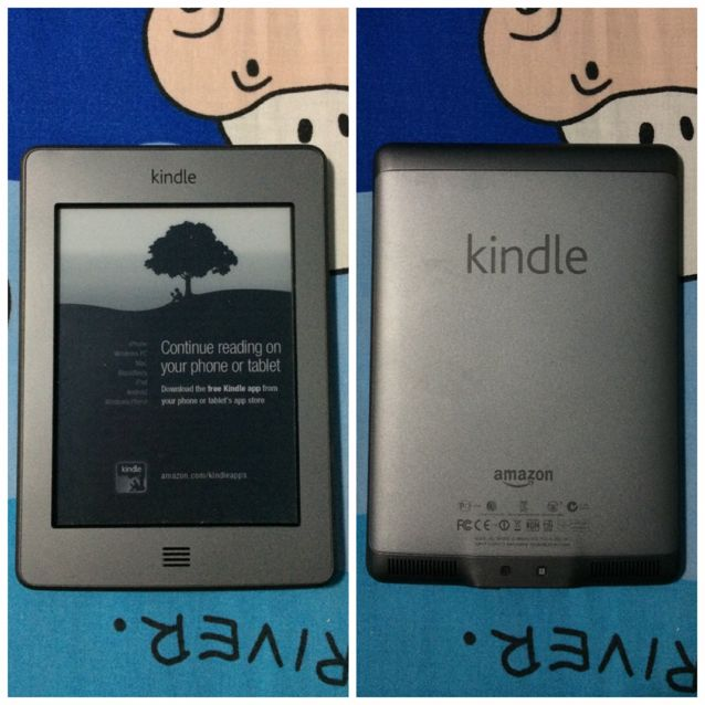*Price Reduced* Amazon Kindle Touch Wi-fi 6