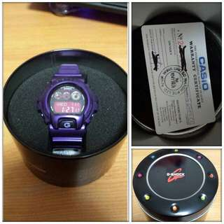 G Shock G6900CC Purple