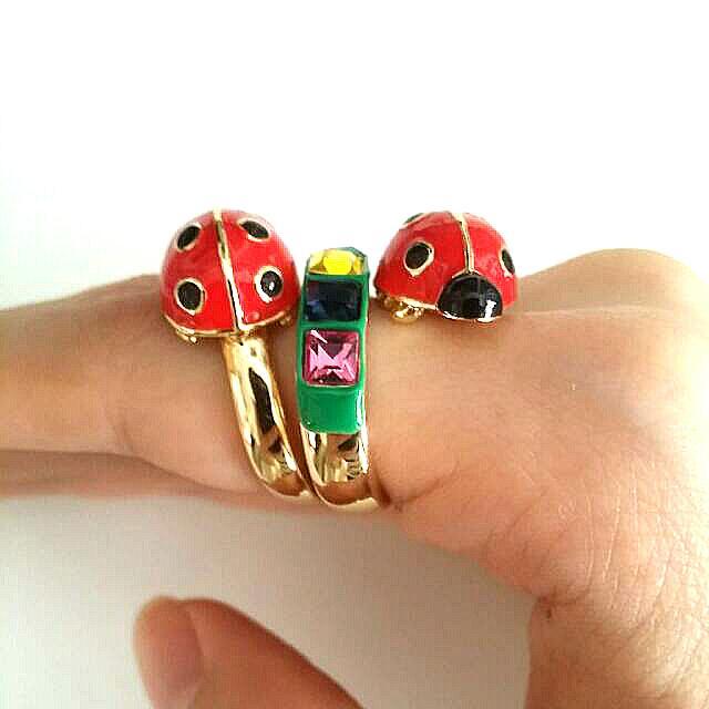 Bimba And Lola Ladybird Ring