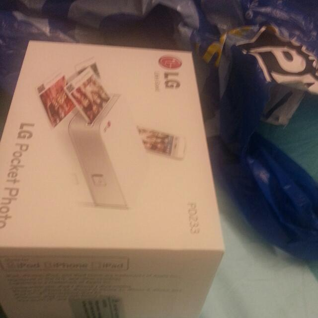 LG Pocket Printer PD233 Bluetooth NFC