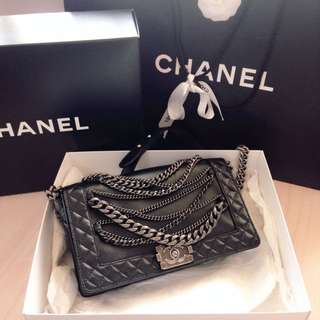 Chanel le Boy with Chain *Limited Edition*