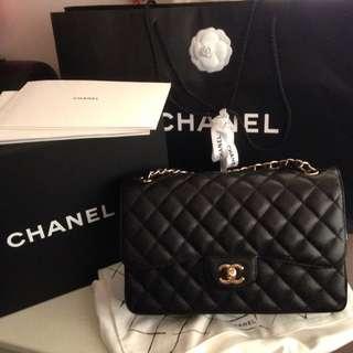 Chanel Jumbo Cavier Ghw