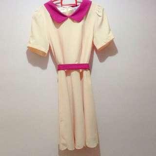 The Tinsel Rack Jupiter Scallop Hem Dress