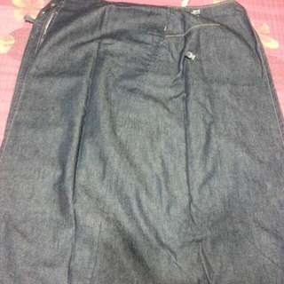 Levis Engineered Denim Long Skirt.