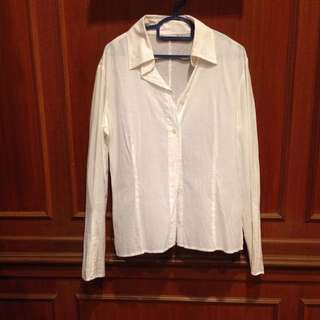 Max And Co White Shirt