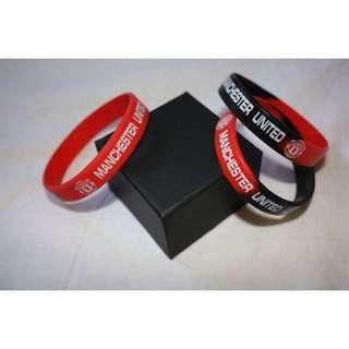 Man United Silicon Wristband