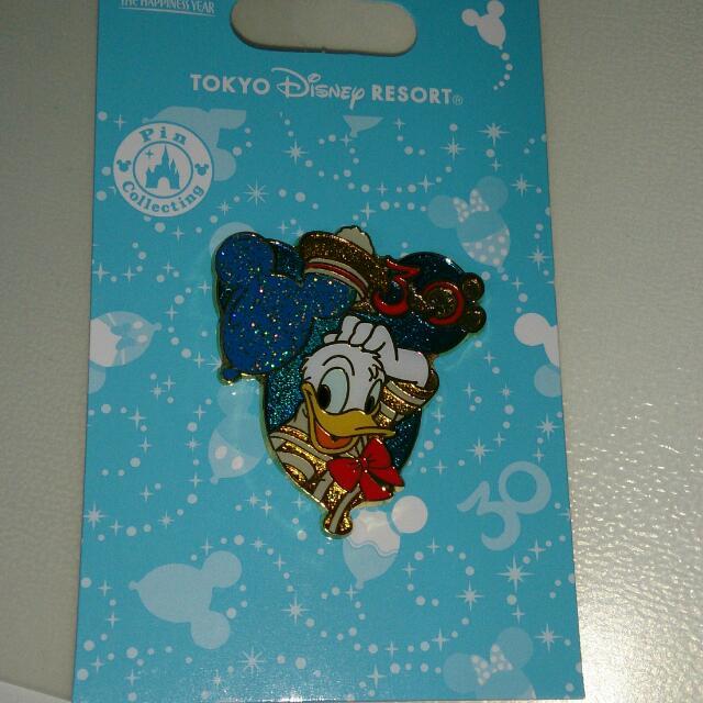 Donald Duck DisneySEA 30TH Anniversary Pin Collection