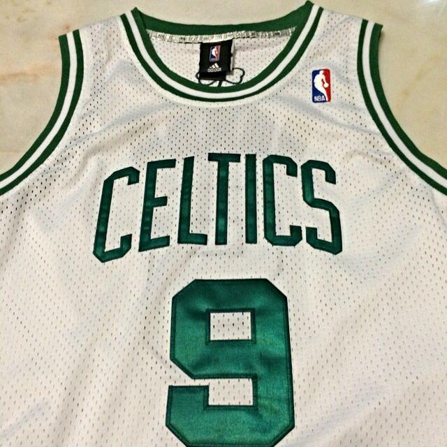 brand new b7ad1 99698 NBA Boston Celtics Rondo 9 Jersey