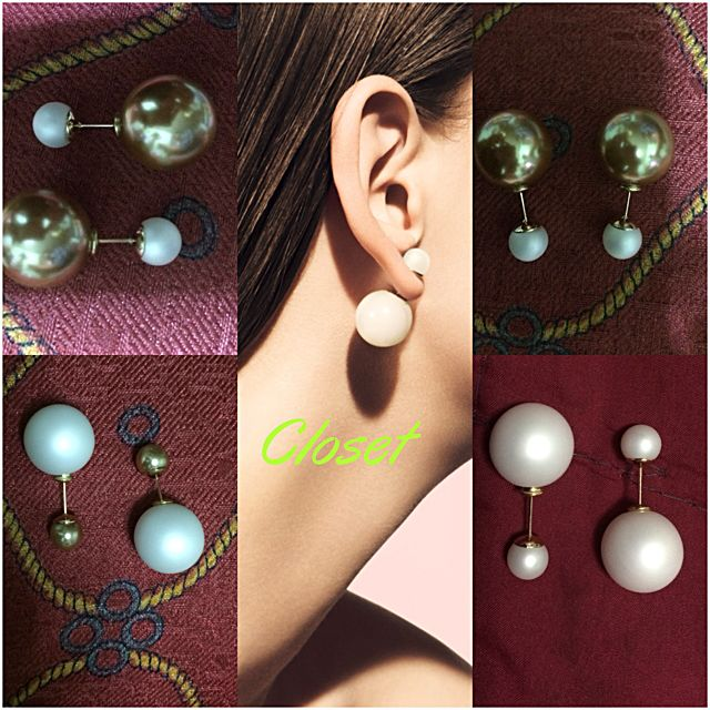 Pearl Stud- Dior Style Earing