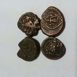 500+ Years Old Coins Of South India Kingdoms