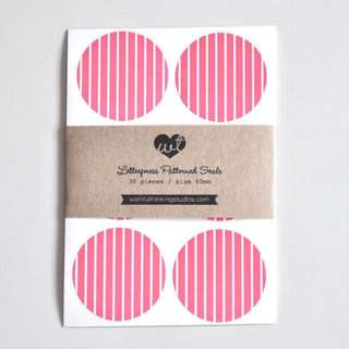 Honeysuckle - Letterpress Printed Pattern Seal (30pcs)