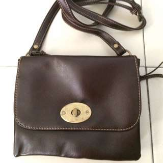 BN Dark Brown Sling Bag