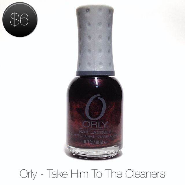 Orly 'Take Him To The Cleaners'