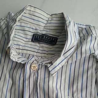 Ted Baker Long Sleeve Shirt. Size 14
