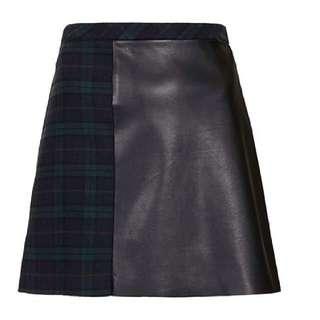 topshop Tartan Skirt