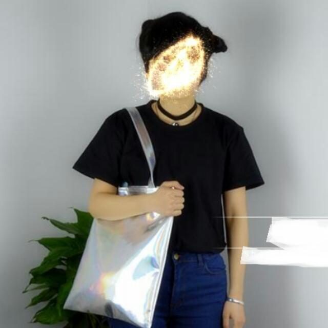 Holographic Tote Bag / HX0002