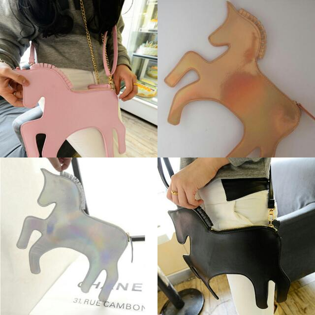 Unicorn Clutch/Sling Bag / HX0004