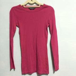 Dorothy Perkins Pink Long Sleeve Shirt