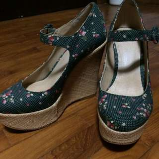 ASOS Floral Mary Janes